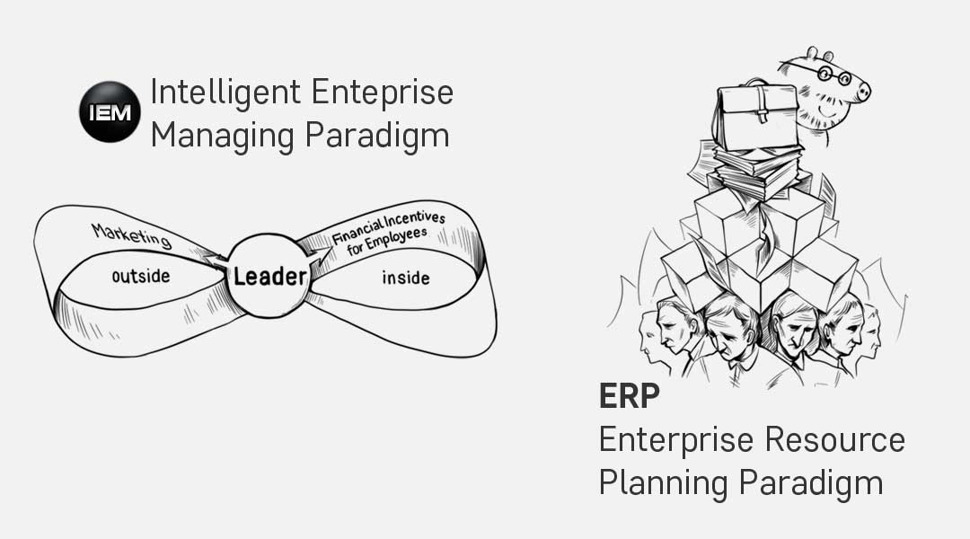 ERP organization vs IEM Enterprise